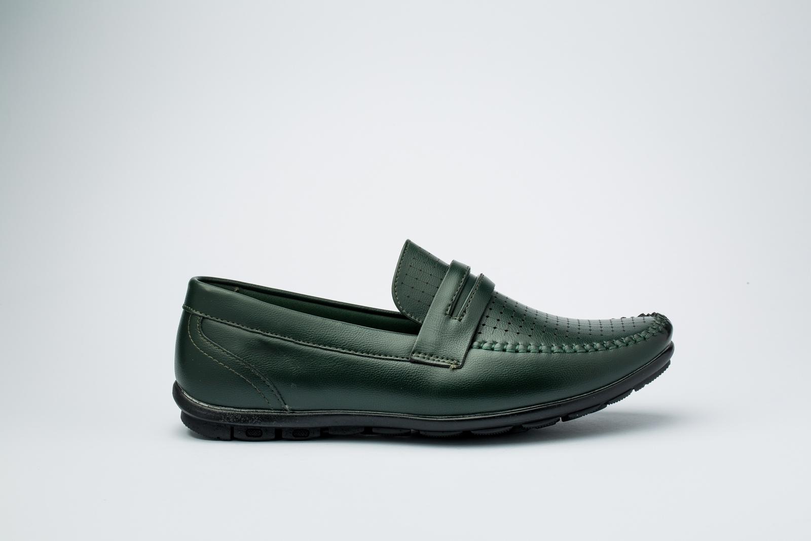 الصورة: حذاء (كندرة) اخضر