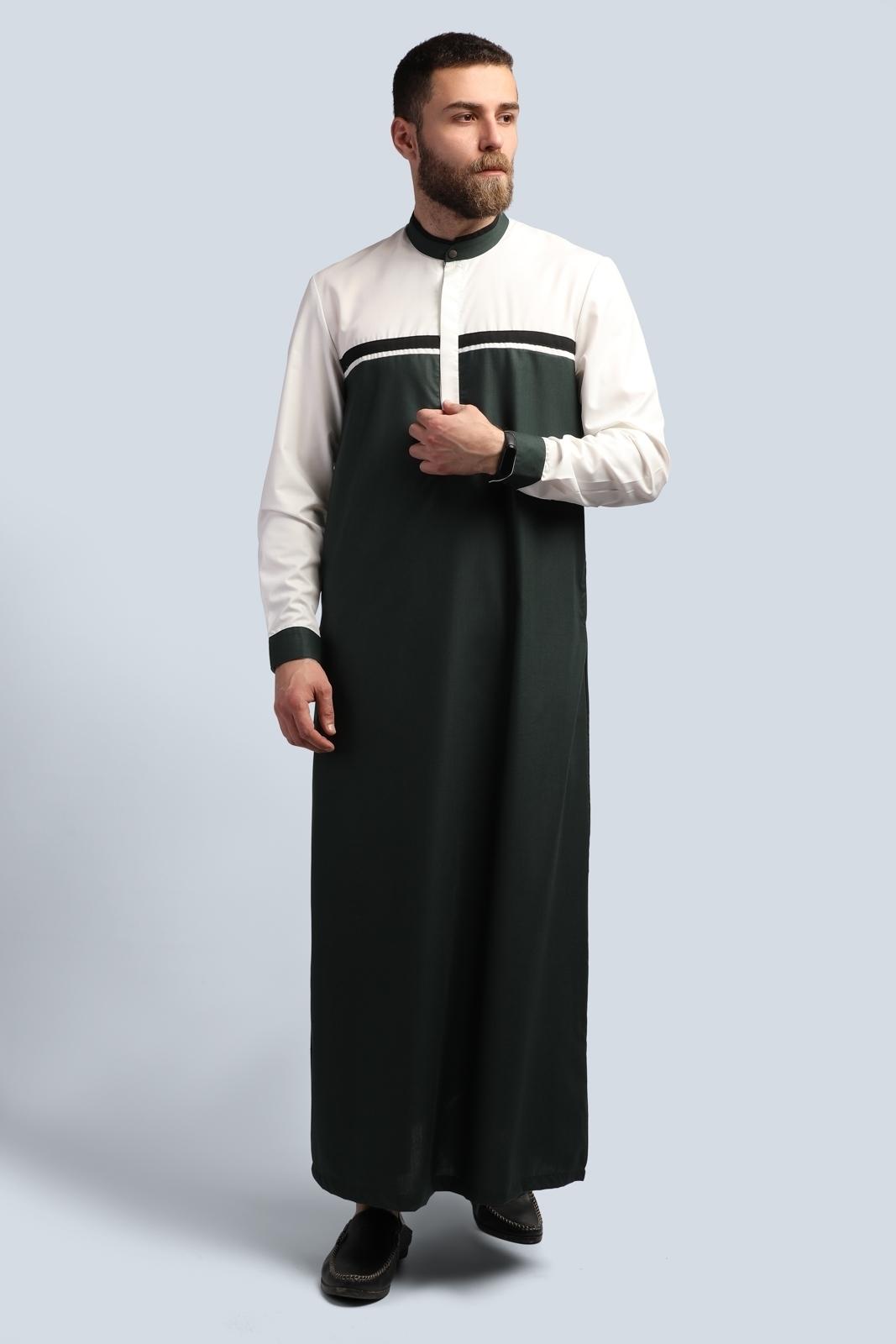 الصورة: بدلة طويلة - كم